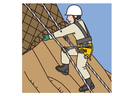 ロープ高所作業イメージ01
