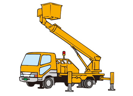 高所作業車運転(作業床の高さ10m以上)イメージ03
