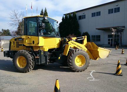 車両系建設機械(整地・運搬・積込み用及び掘削用)運転 (機体質量3t以上)イメージ03