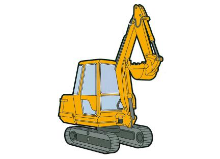 小型車両系建設機械(整地・運搬・積込み用及び掘削用)運転(機体質量3t未満)イメージ02
