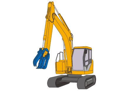 車両系建設機械(解体用)運転(機体質量3t以上)イメージ02